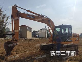 加藤HD512-R5挖掘機實拍圖片