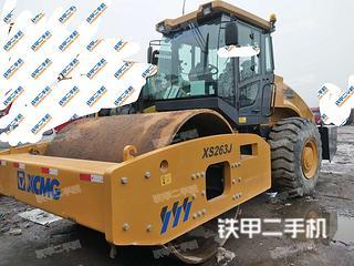 陕西-宝鸡市二手徐工XS263J压路机实拍照片