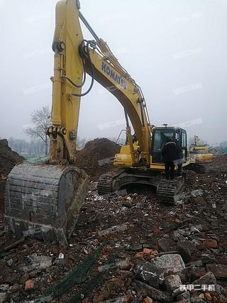 北京小松PC360-8M0挖掘机实拍图片