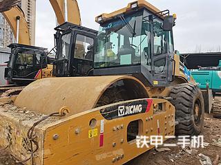 四川-成都市二手徐工XS263J压路机实拍照片