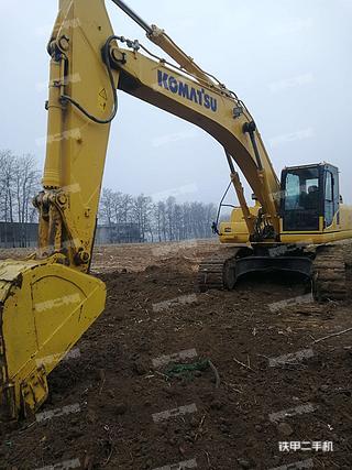 北京小松PC300-8M0挖掘机实拍图片