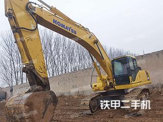 小松PC300-7挖掘机实拍图片