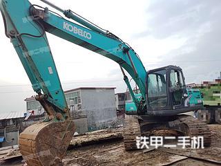 安徽-蚌埠市二手神钢SK200-8挖掘机实拍照片