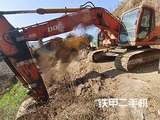 贵州-毕节市二手斗山DH220LC-7挖掘机实拍照片