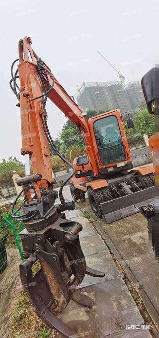广西-南宁市二手新源XY65W-7挖掘机实拍照片