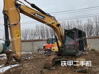 北京三一重工SY135C挖掘机实拍图片