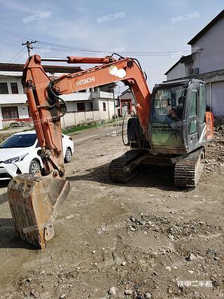 陕西-汉中市二手日立ZX70-5A挖掘机实拍照片