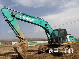陕西-西安市二手神钢SK250-10挖掘机实拍照片