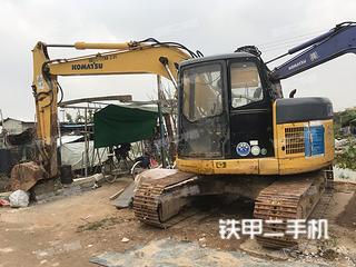 广州小松PC128US-2挖掘机实拍图片