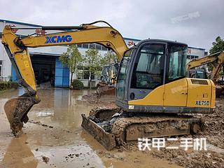 徐工XE75D挖掘機實拍圖片