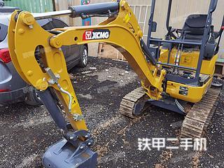 徐工XE15U挖掘机实拍图片