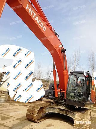 陕西-西安市二手日立ZX240-5A挖掘机实拍照片