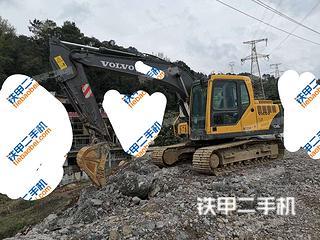 贵州-黔南布依族苗族自治州二手沃尔沃EC140BLC挖掘机实拍照片