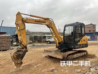 广东-湛江市二手柳工CLG906D挖掘机实拍照片