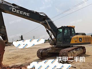 云南-红河哈尼族彝族自治州二手约翰迪尔EC360LC挖掘机实拍照片