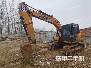 北京三一重工SY155C挖掘机实拍图片