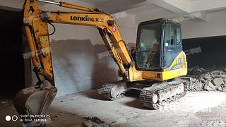 龍工LG6065挖掘機實拍圖片