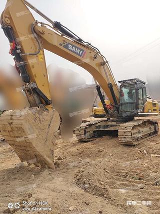 兰州三一重工SY375H挖掘机实拍图片