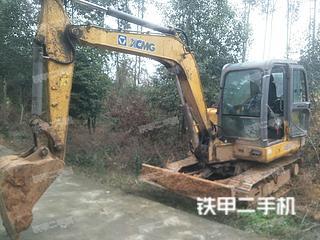 四川-眉山市二手徐工XE60CA挖掘机实拍照片