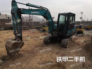 兰州山河智能SWE60E挖掘机实拍图片