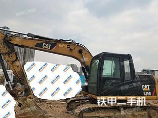 四川-成都市二手卡特彼勒313D挖掘机实拍照片