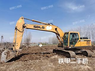 山东-日照市二手山东临工E6210F挖掘机实拍照片