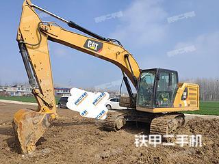 安徽-蚌埠市二手卡特彼勒新一代Cat®320GC液压挖掘机实拍照片