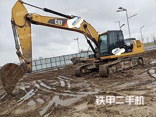 卡特彼勒326DL挖掘机实拍图片