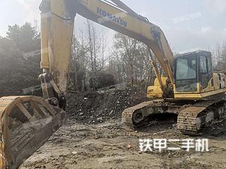 四川-成都市二手小松PC240LC-8挖掘机实拍照片