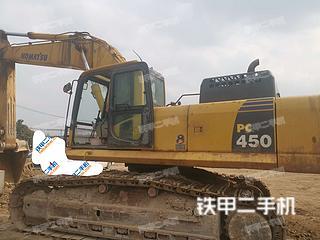 四川-成都市二手小松PC450-8挖掘机实拍照片