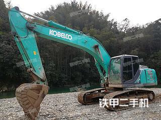 湖南-湘西土家族苗族自治州二手神钢SK250-10挖掘机实拍照片
