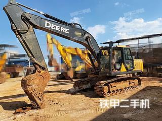 云南-红河哈尼族彝族自治州二手约翰迪尔E210挖掘机实拍照片