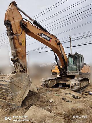 兰州三一重工SY285C挖掘机实拍图片