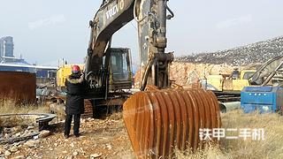 保定沃尔沃EC360BLC挖掘机实拍图片