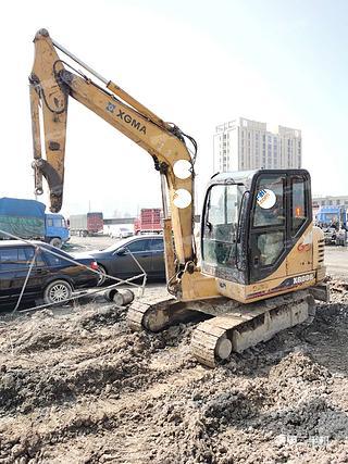厦工XG806挖掘机实拍图片