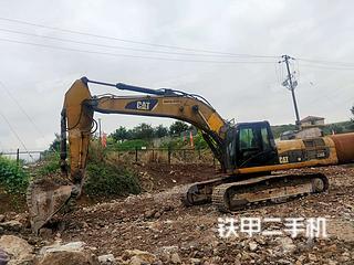 湖南-张家界市二手卡特彼勒336DL挖掘机实拍照片