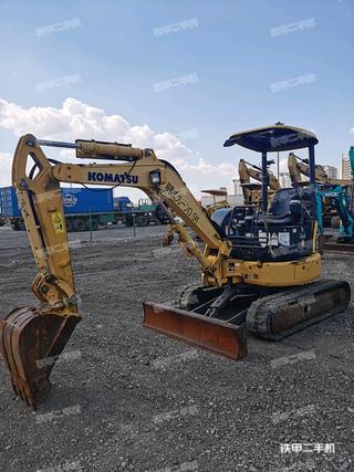 小松PC30MR-3挖掘機實拍圖片