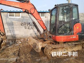 久保田KX165-5挖掘機實拍圖片