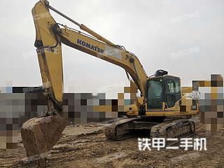 河南-郑州市二手小松PC220-8挖掘机实拍照片