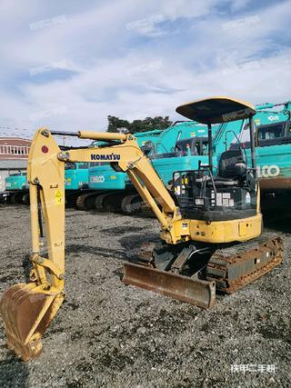 小松PC20MR-3挖掘機實拍圖片