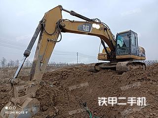 江苏-宿迁市二手卡特彼勒320D液压挖掘机实拍照片