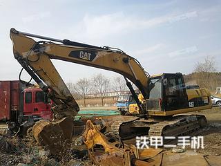 北京卡特彼勒329D挖掘機實拍圖片