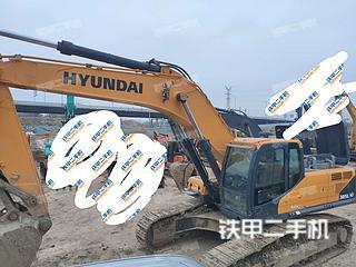 現代R385LVS挖掘機實拍圖片