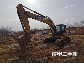 北京卡特彼勒323DL挖掘機實拍圖片