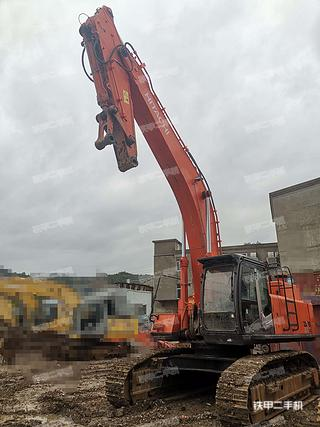 浙江-台州市二手日立ZX470LCH-3挖掘机实拍照片