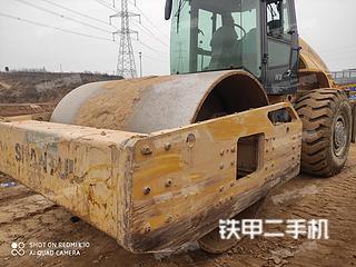 河南-郑州市二手山推SR26M-3压路机实拍照片