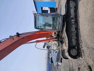 二手日立挖掘机整机左前45°实拍图366