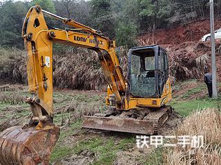 龍工LG6060挖掘機實拍圖片