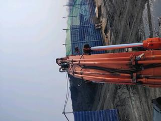 二手日立挖掘机驾驶室顶部实拍图372