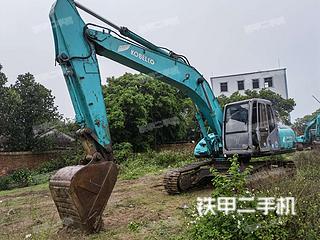 广东-湛江市二手神钢SK200-5.5挖掘机实拍照片